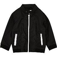Mini boys black bomber jacket