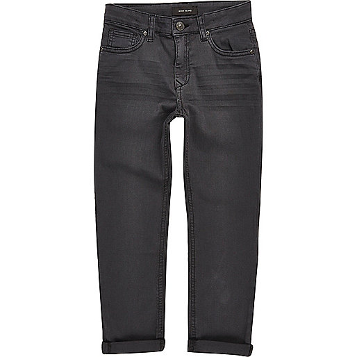 Dylan – Dunkelgraue Slim Jeans