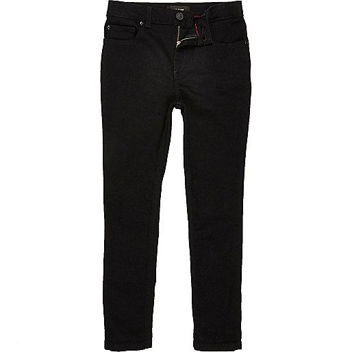 Boys black Sid skinny jeans
