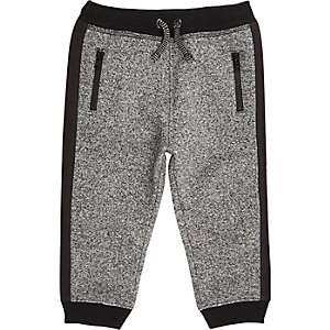 Mini boys grey grindle jogger