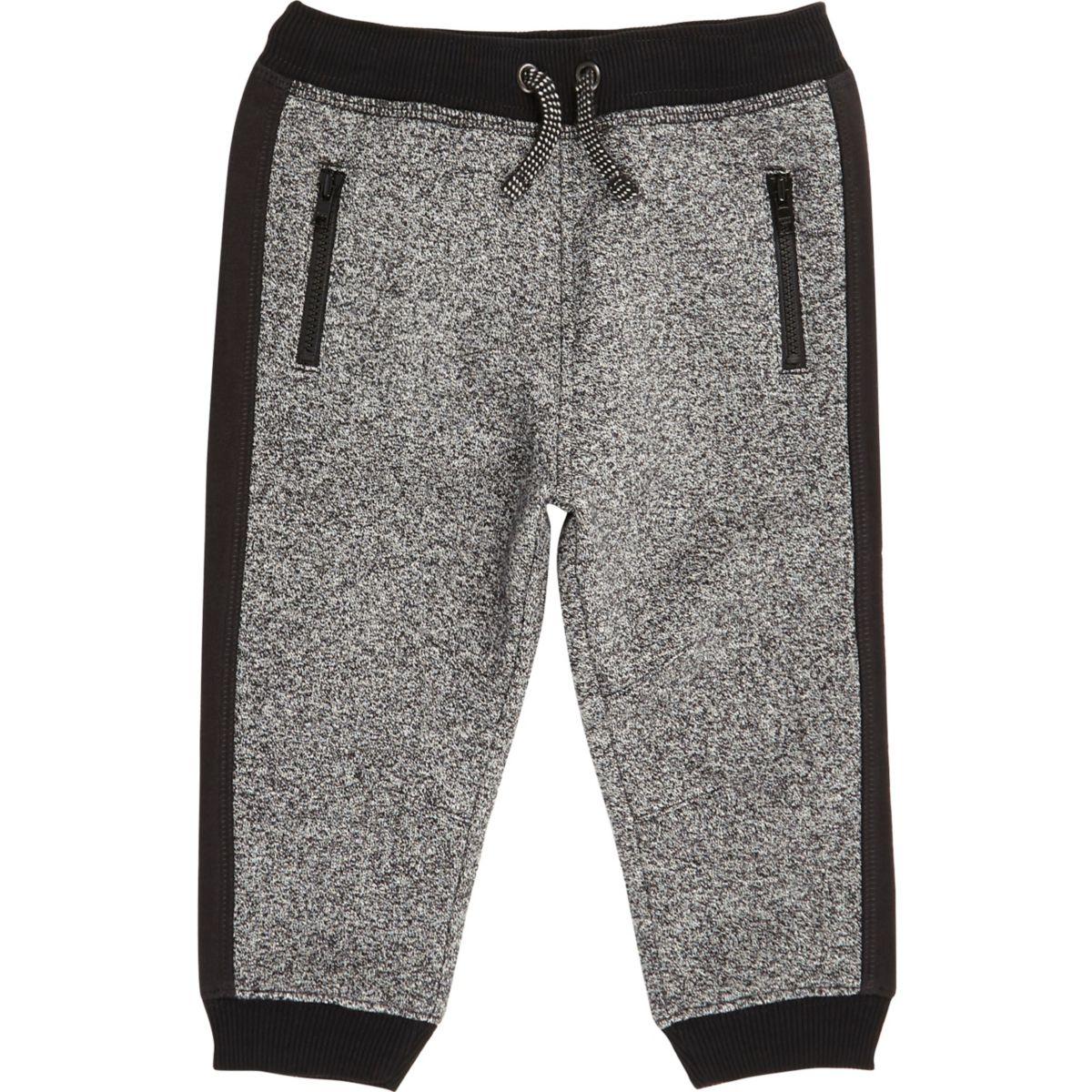 Pantalon de jogging gris mini garçon
