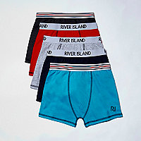Boys soft cotton boxers multipack