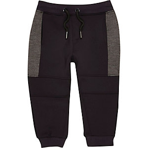 Mini boys navy sports jogger