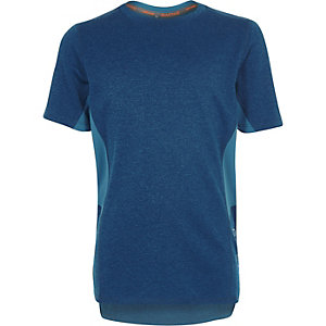 RI Active – Blaues T-Shirt