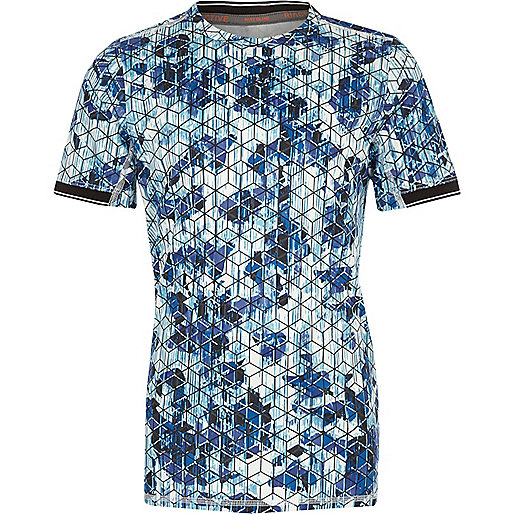 Boys RI Active geometric T-Shirt