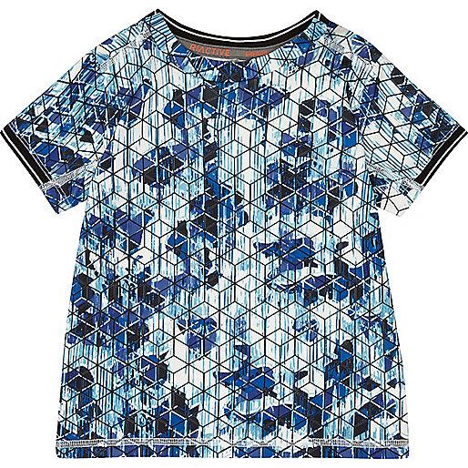 Mini boys RI Active geometric print T-Shirt
