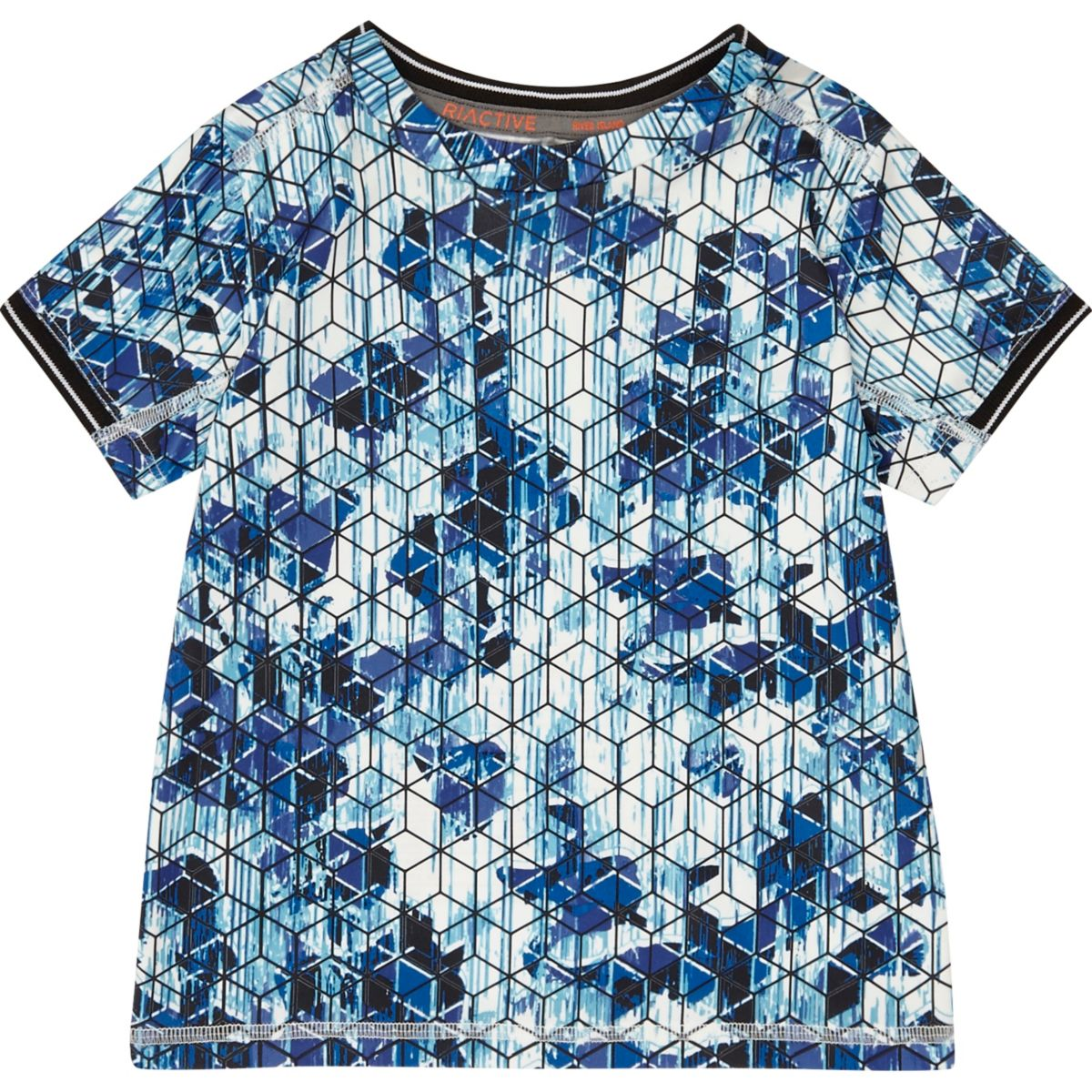 Mini boys RI Active geometric print T-Shirt