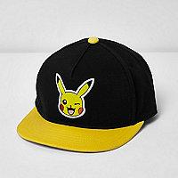 Casquette Pokémon Pikachu noire pour garçon