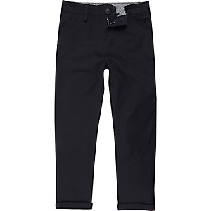 Boys navy blue chino pants