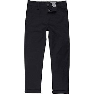 Marineblauwe chino broek voor jongens