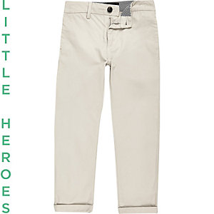 Boys stone chino pants