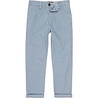 Pantalon chino bleu clair pour garçon