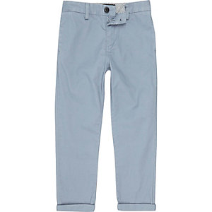 Boys light blue chino pants