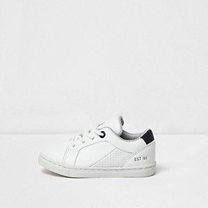 Mini - witte sneakers voor jongens