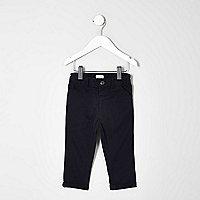 Mini boys navy chino pants