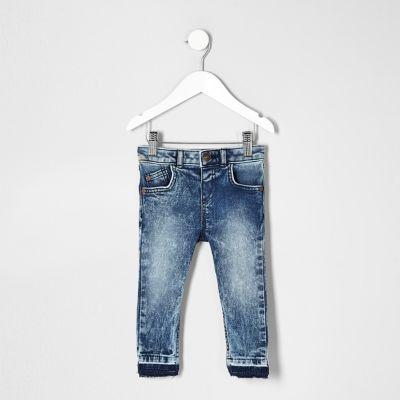 Mini Sid acid wash jeans voor jongens