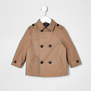Mini boys beige mac jacket