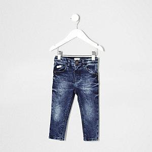 Mini - Skinny Sid jeans met middenblauwe wash voor jongens