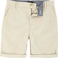 Chino-Shorts in Hellbeige