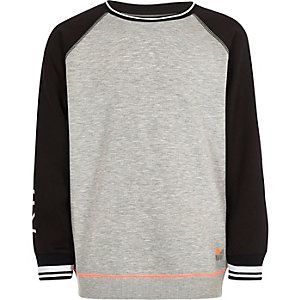 Boys RI Active grey sports sweatshirt