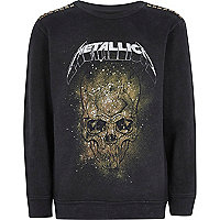 Schwarzes Metallica-Sweatshirt