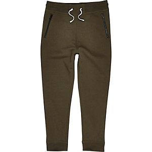 Pantalon de jogging vert kaki pour garçon