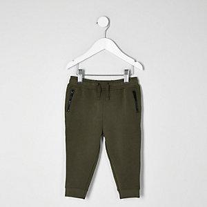 Pantalon de jogging kaki mini garçon