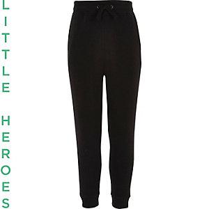 Pantalon de survêtement noir pour garçon