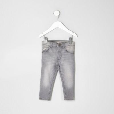 Mini Sid grijze skinny jeans voor jongens