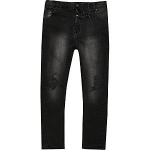 Tony - Zwarte wash nonchalante jeans voor jongens