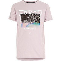 Boys pink NYC T-shirt