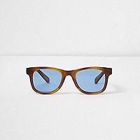 Retro-Sonnenbrille aus Schildpatt
