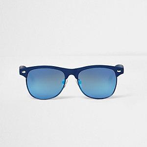 Boys blue retro sunglasses