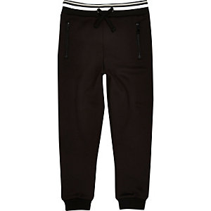 Boys RI Active black sports joggers