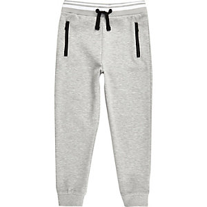 Boys RI Active light grey sports joggers