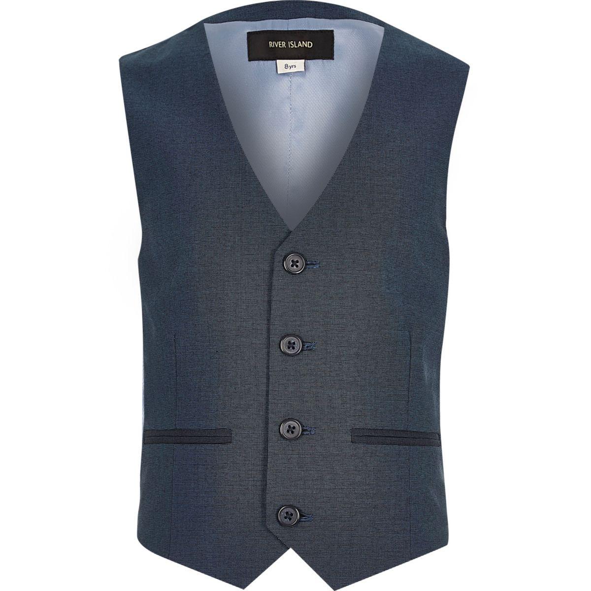 gilet de costume bleu p trole pour gar on offres de saison promos gar on. Black Bedroom Furniture Sets. Home Design Ideas