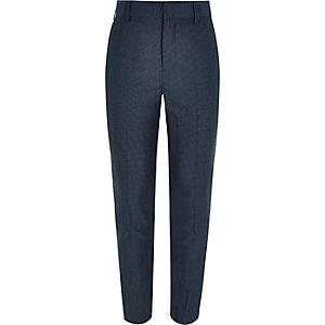Pantalon de costume bleu pétrole pour garçon