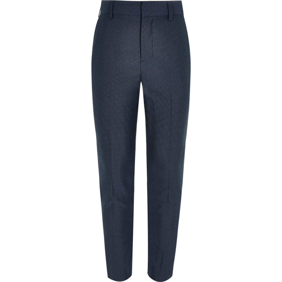 Boys petrol blue suit pants