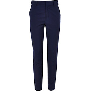 Boys bright blue suit pants