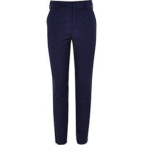 Felblauwe pantalon voor jongens