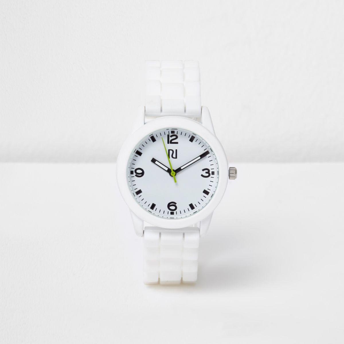 Boys white sports watch