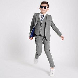 Veste de costume grise pour garçon