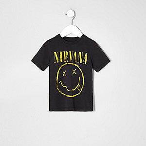 T-shirt imprimé Nirvana gris pour mini garçon