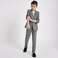Boys grey suit pants