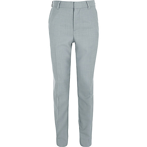 Boys light blue suit pants