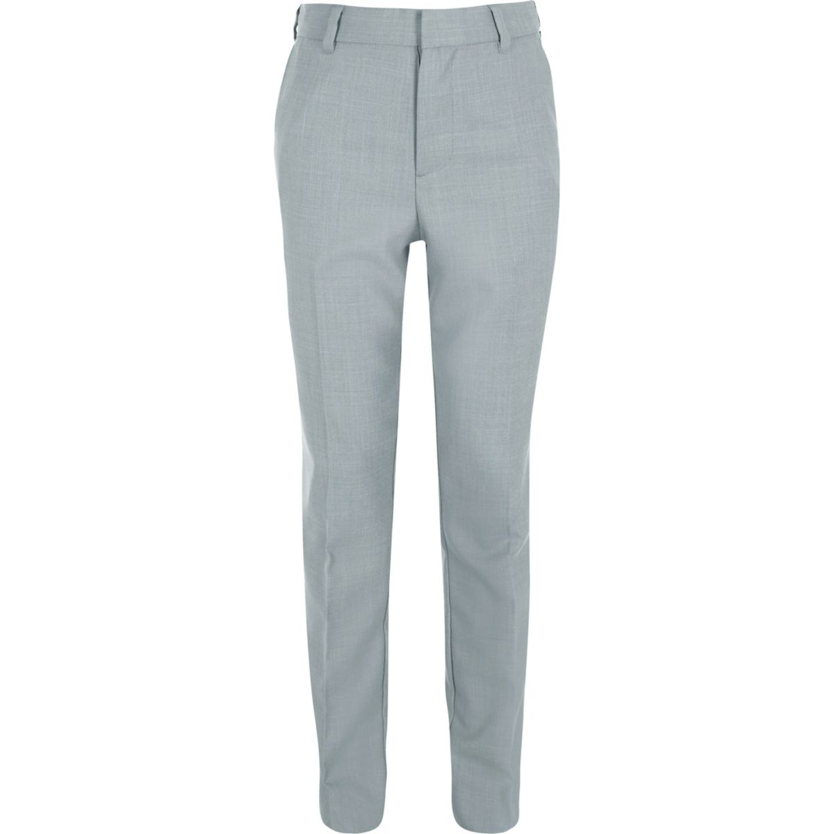 Boys light blue suit trousers