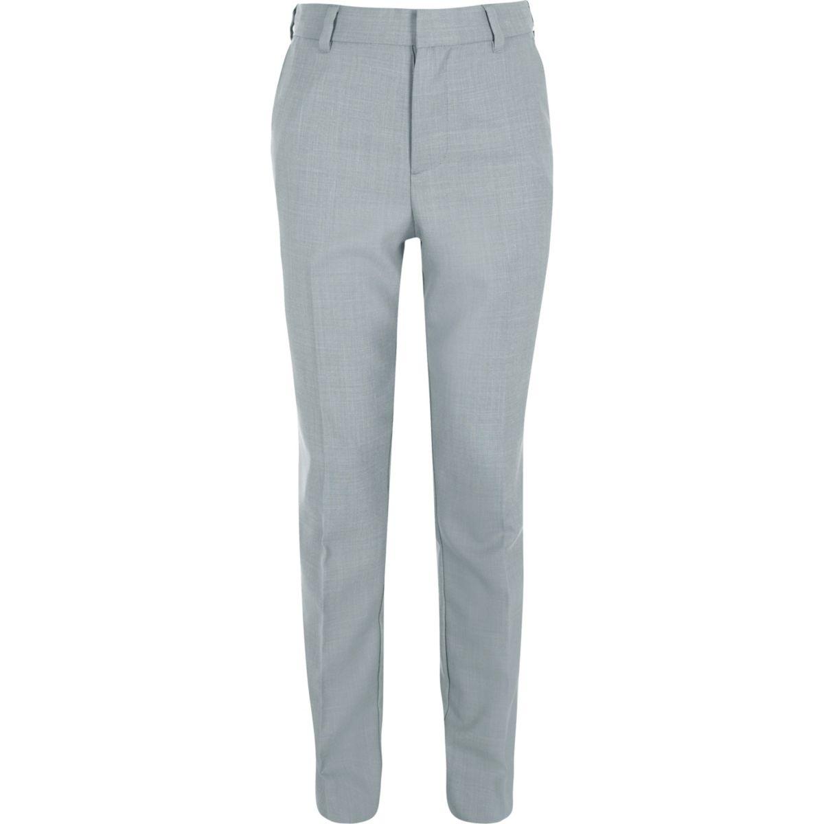 Boys light blue suit pants