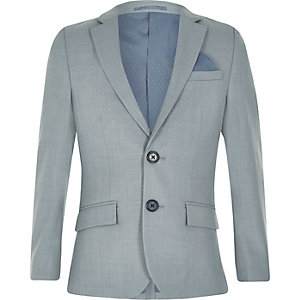 Boys light blue suit jacket