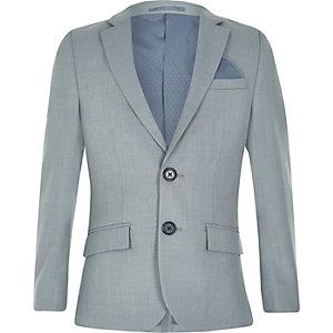 Veste de costume bleu clair pour garçon