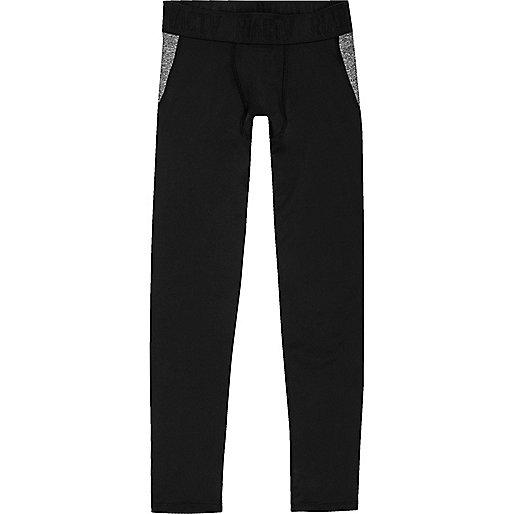 Girls RI Active black leggings